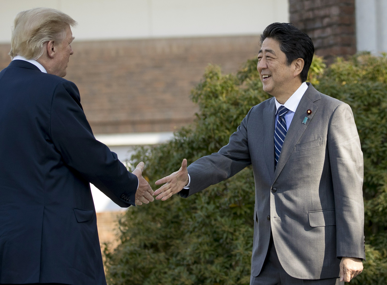 Trump calls Japan 'crucial ally' as he kicks off Asia trip
