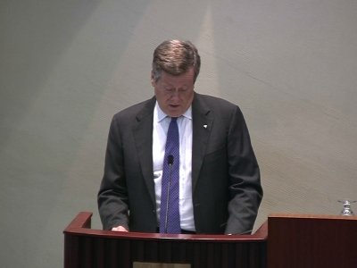 Toronto Mayor Vows to Pursue Gun Reform in City