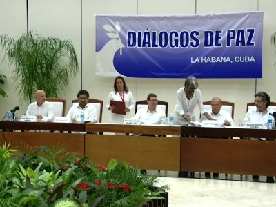 Colombia's Govt. and Rebels Sign Peace Accord
