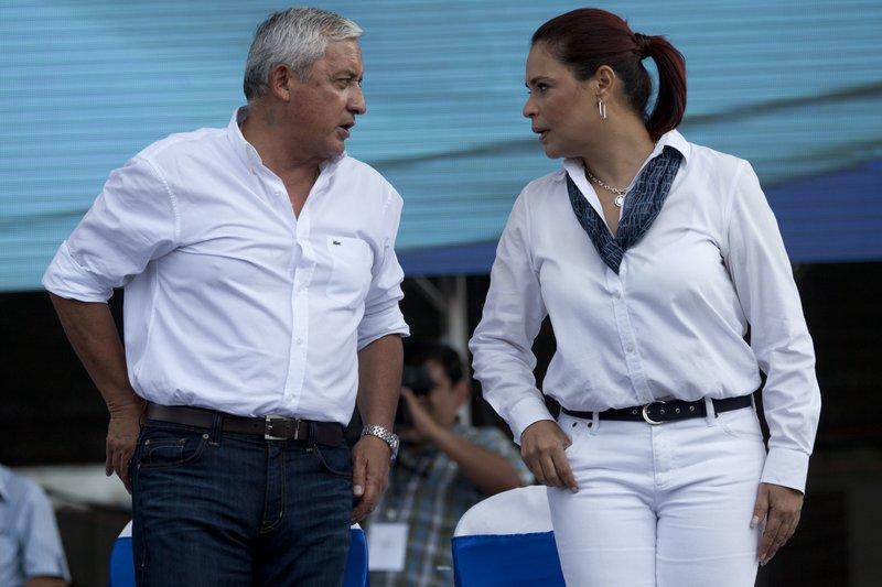 Otto Perez Molina, Roxana Baldetti