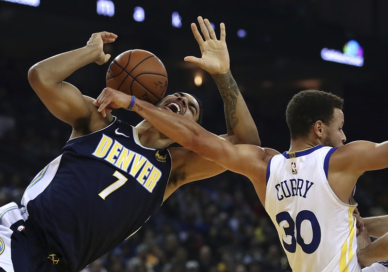 Stephen Curry, Trey Lyles