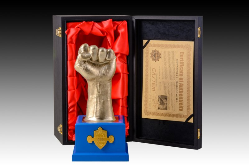 Castem Creates World's First Limited Product Featuring 888 Casts of Manny Pacquiao's Fist, the Legendary Six-time World Boxing Champion!