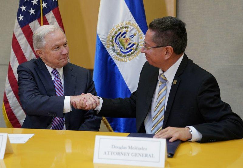 Jeff Sessions, Douglas Melendez Ruiz,
