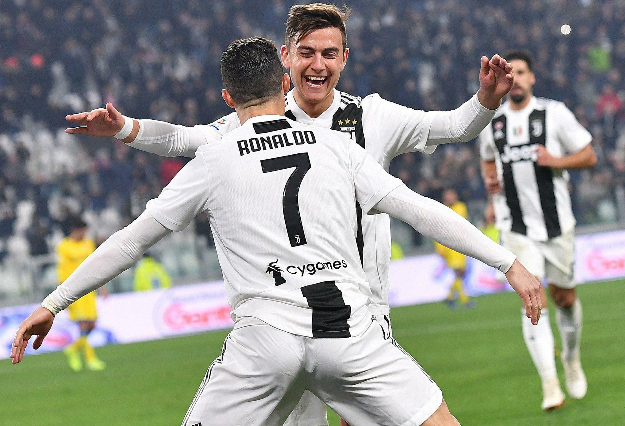 6f958953c615 Joint celebration shows growing Ronaldo