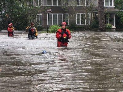 Jacksonville Suffers Record Flooding Post Irma
