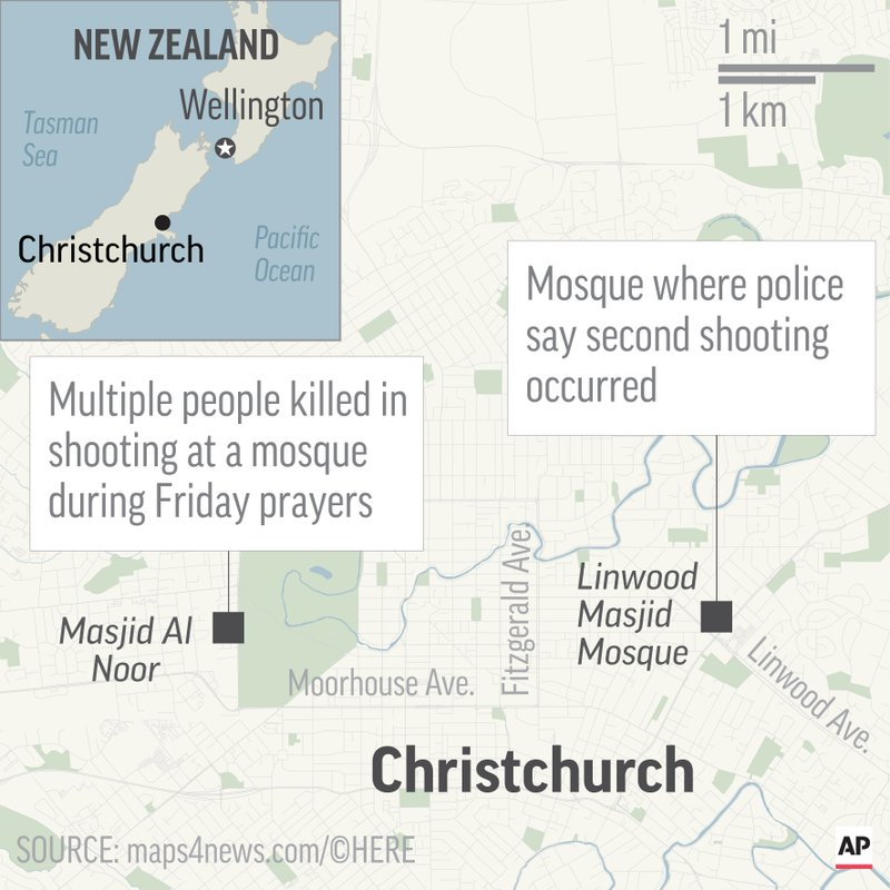 NZ MOSQUE SHOOTING