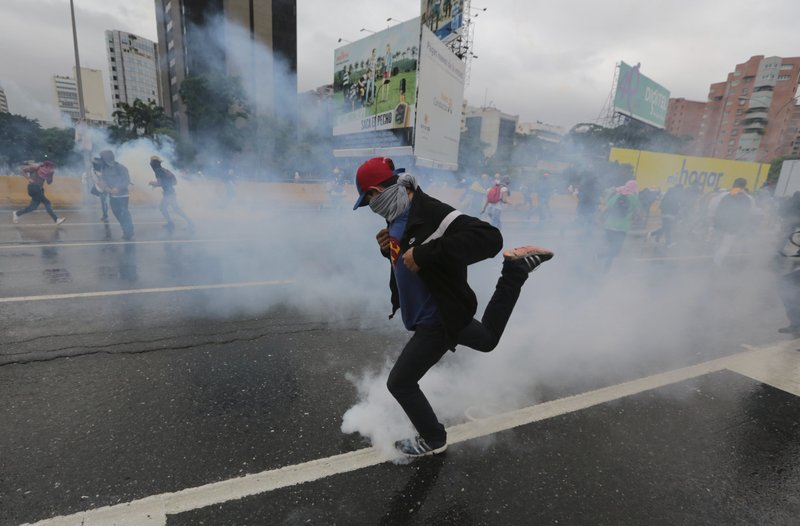 Image result for Five killed in Venezuela as protesters kick against new congress
