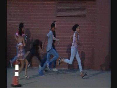 Raw: Video Shows Protesters Flee Dallas Gunfire