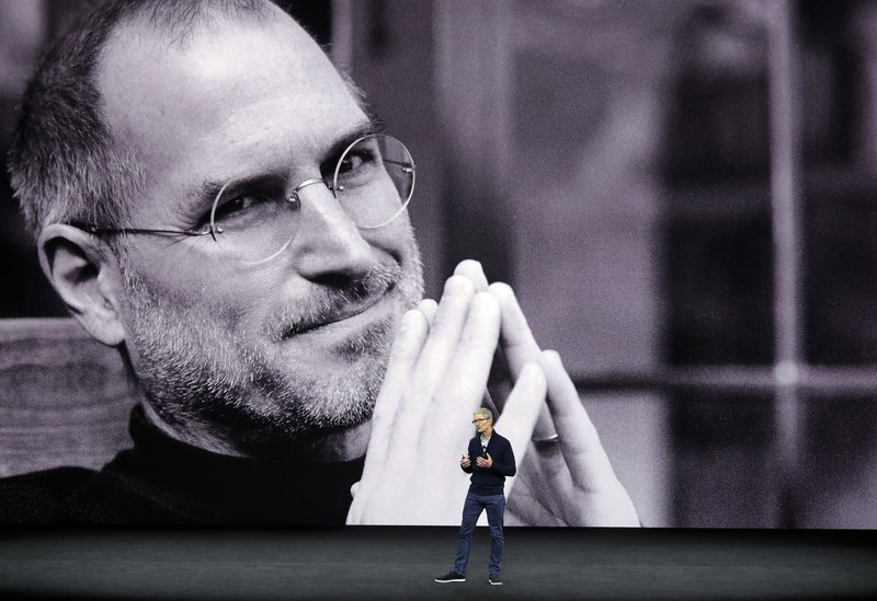 Tim Cook, Steve Jobs