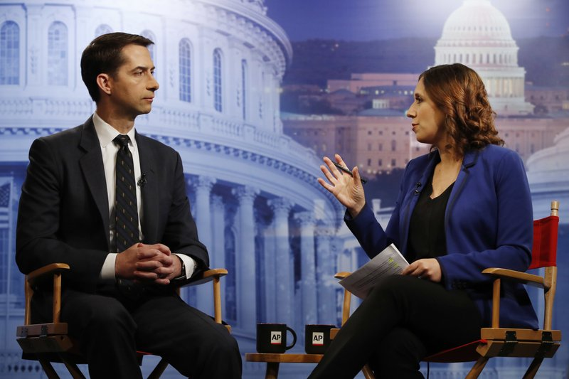 Tom Cotton, Julie Pace