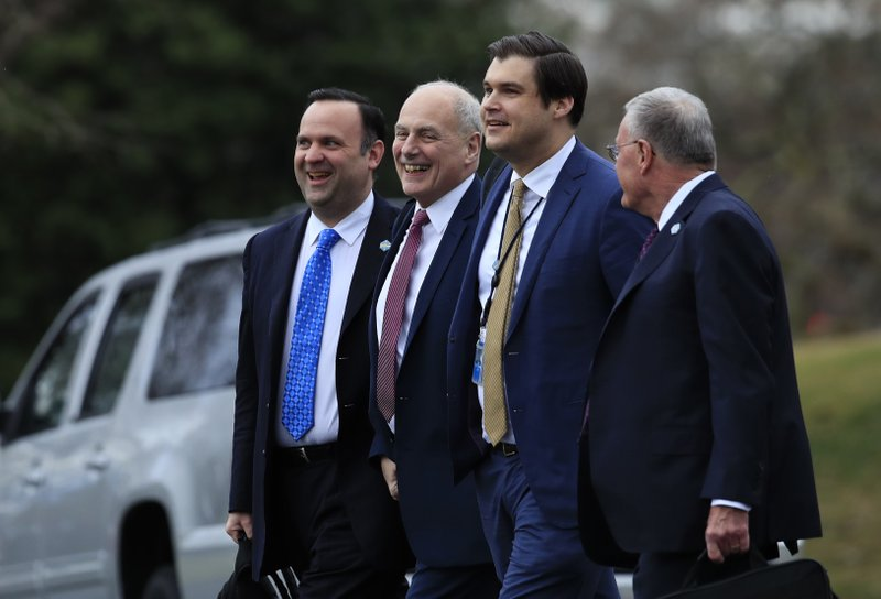 John Kelly, Dan Scavino, Johnny DeStefano, Keith Kellogg