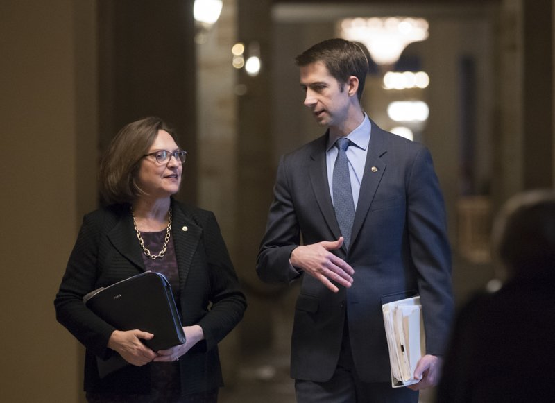 Deb Fischer, Tom Cotton