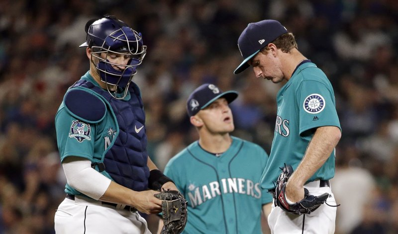 Andrew Moore, Mike Zunino, Kyle Seager
