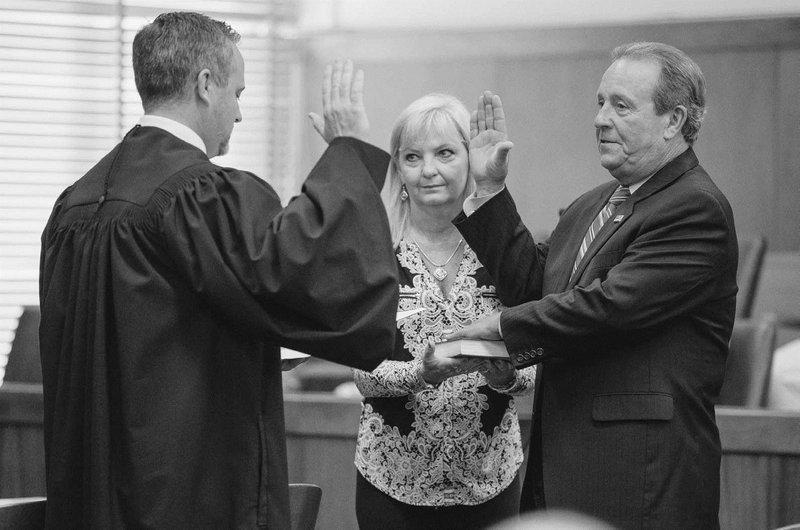 McCarthy sworn in as magistrate