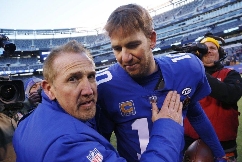 Steve Spagnuolo, Eli Manning
