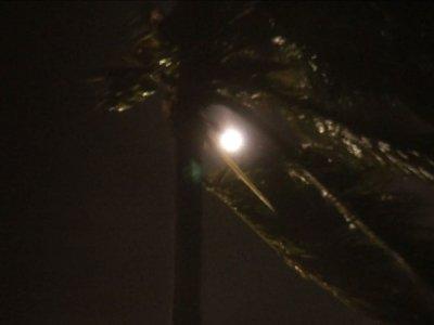 Raw: Hurricane Picks Up Wind Speed Over Bahamas