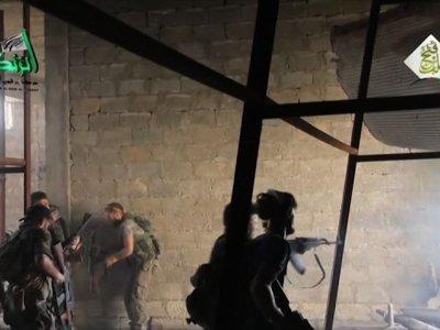 Raw: Syrian Rebels Breach Gov't Siege of Aleppo