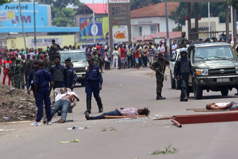 At least 17 dead amid opposition protests in Congo's capital