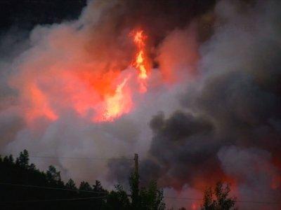 Colorado Wildfire Forces Hundreds to Evacuate