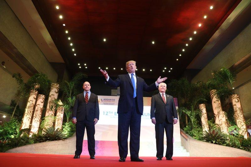 Donald Trump, Rex Tillerson, H.R. McMaster