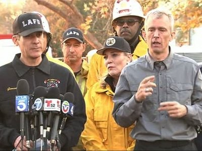 Officials Urge SoCal Residents to Flee Homes