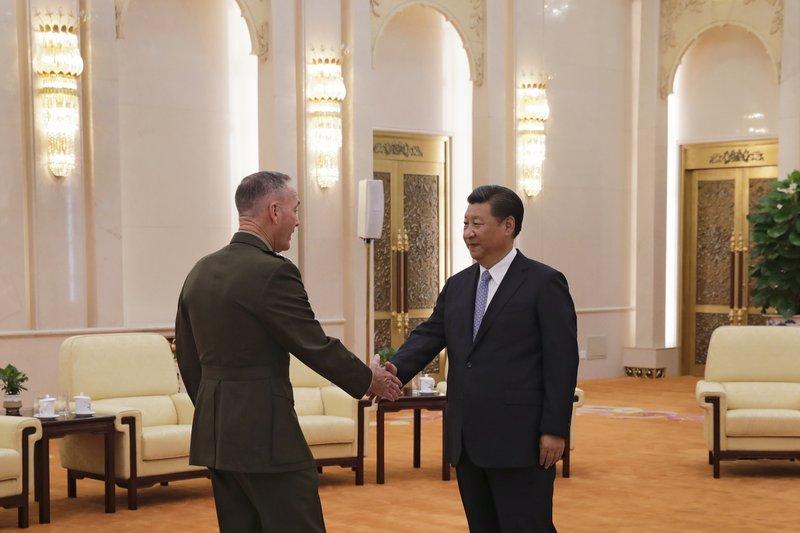 Joseph Dunford, Xi Jinping