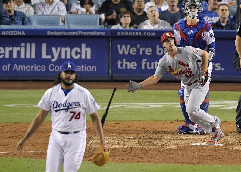 ac61ecdf DeJong homers off Jansen in 9th, Cardinals sweep Dodgers