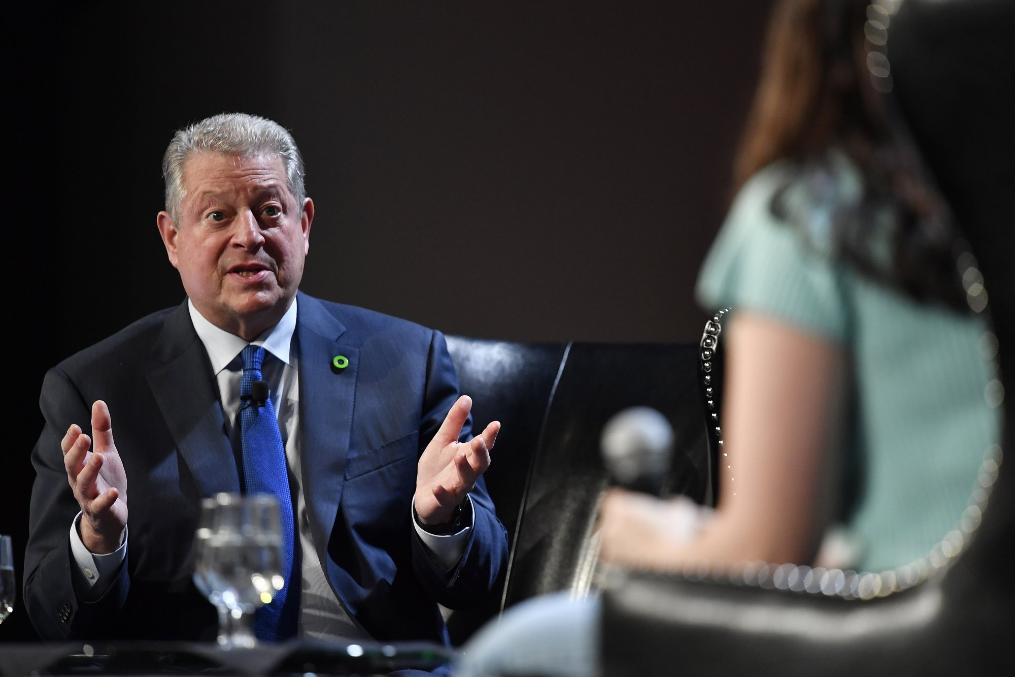 Gore: US getting close to political shift on climate change