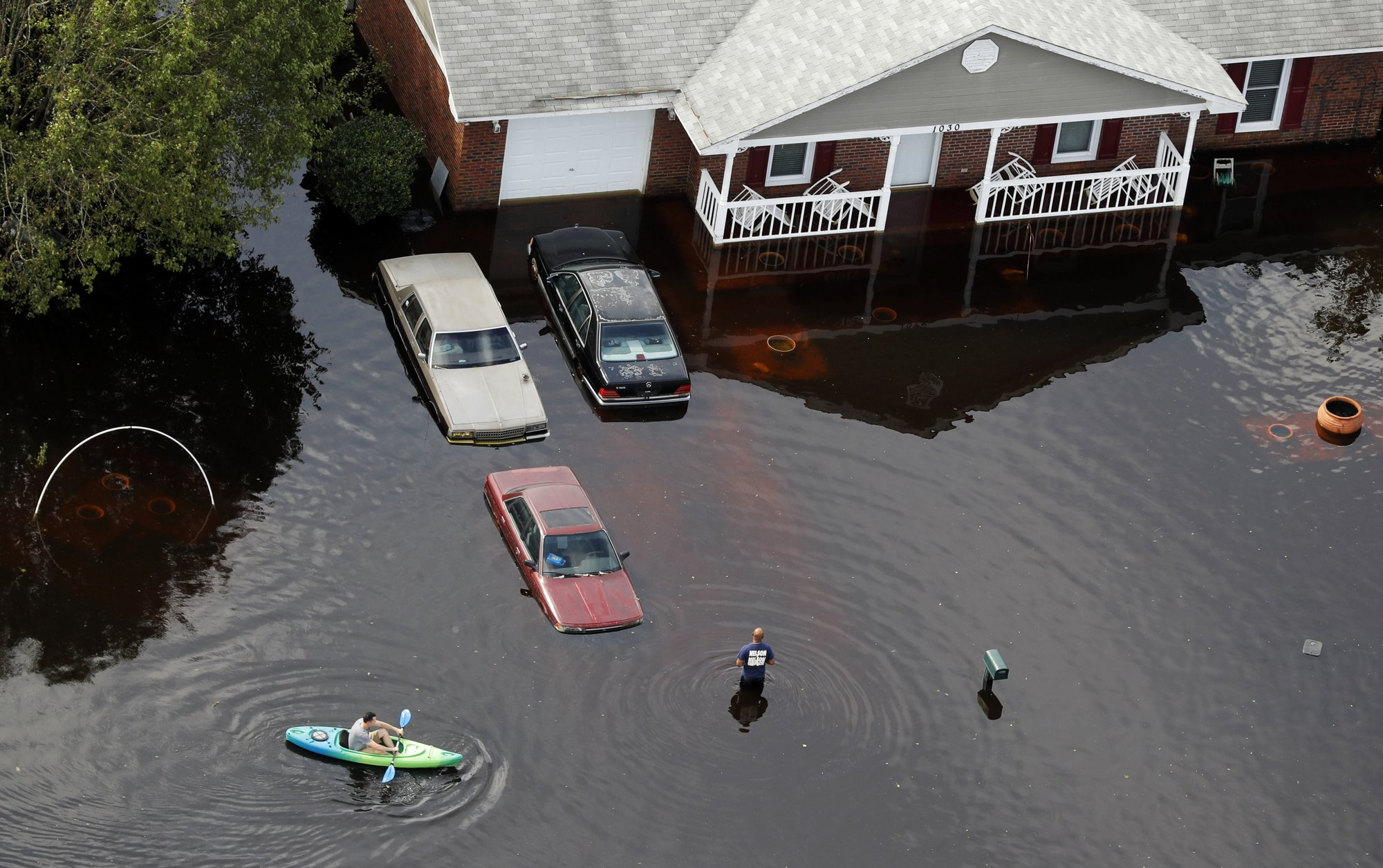 The Latest: More N Carolina Counties Qualify For Federal Aid