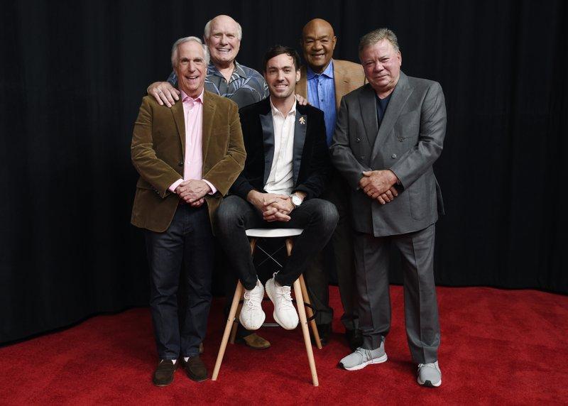 Jeff Dye, William Shatner, Terry Bradshaw, George Foreman, Henry Winkler