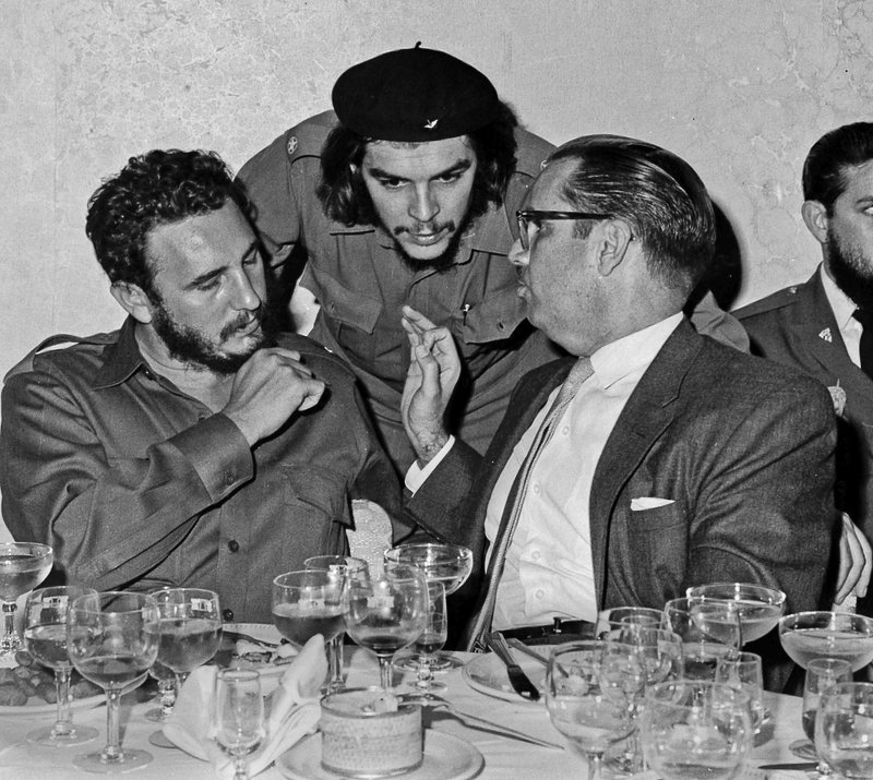 Raul And Fidel Castro Young