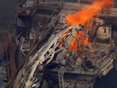 Official: 5 Missing After Oklahoma Rig Explosion