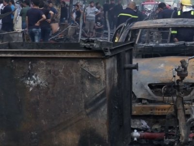 At Least 78 Dead After Baghdad Car Bomb Blast