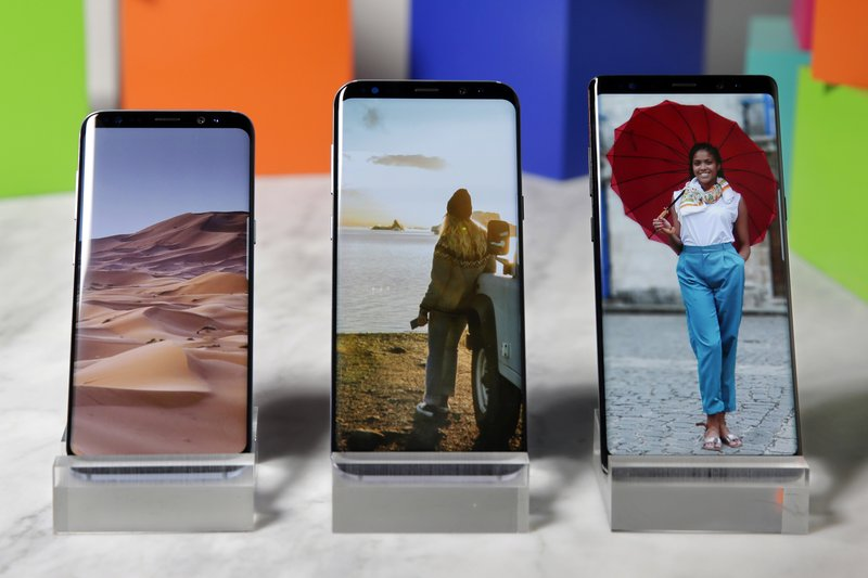 Samsung Galaxy S8, Samsung Galaxy S8 Plus, Samsung Galaxy Note 8
