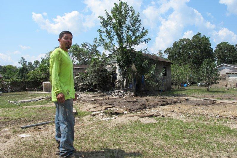 Houston toxic waste sites flooded