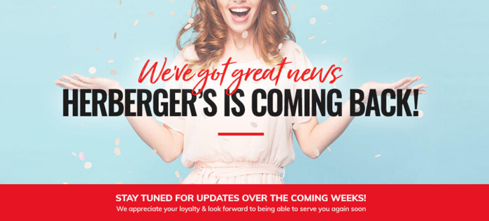 Herberger's is coming back
