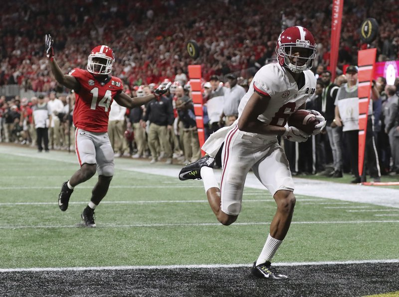 Walk Off Alabama Beats Georgia In Ot For National Title