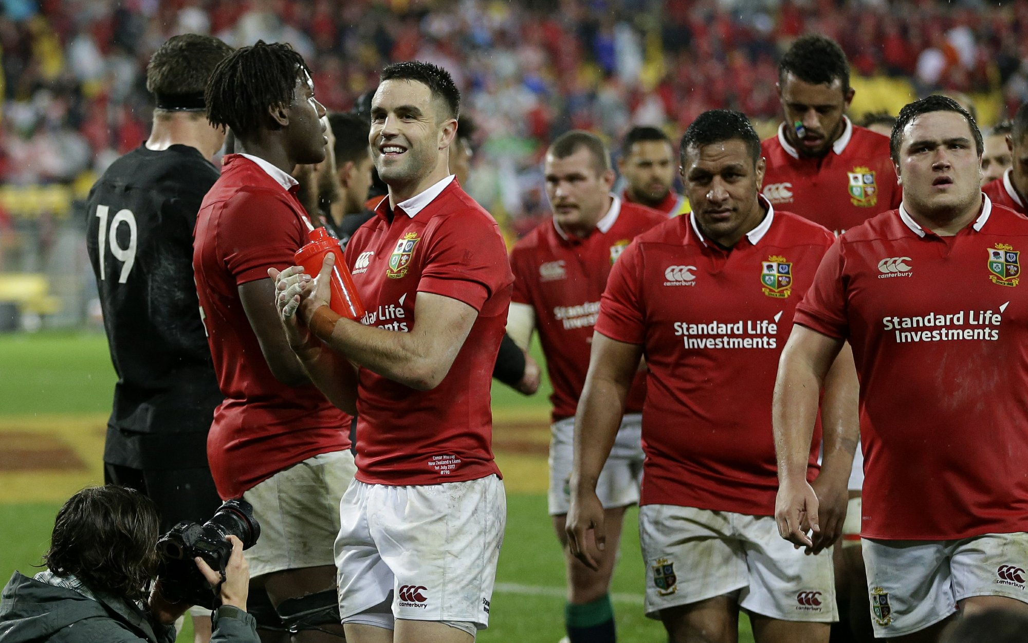 The British And Irish Lions Will Play Two Of Three Tests Against All Blacks At Eden Park On Tour New Zealand In 2017