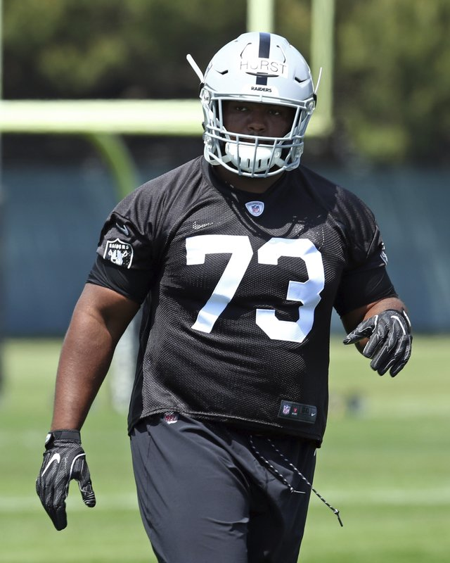 Raiders Hurst Happy To Turn Focus From Heart To Football