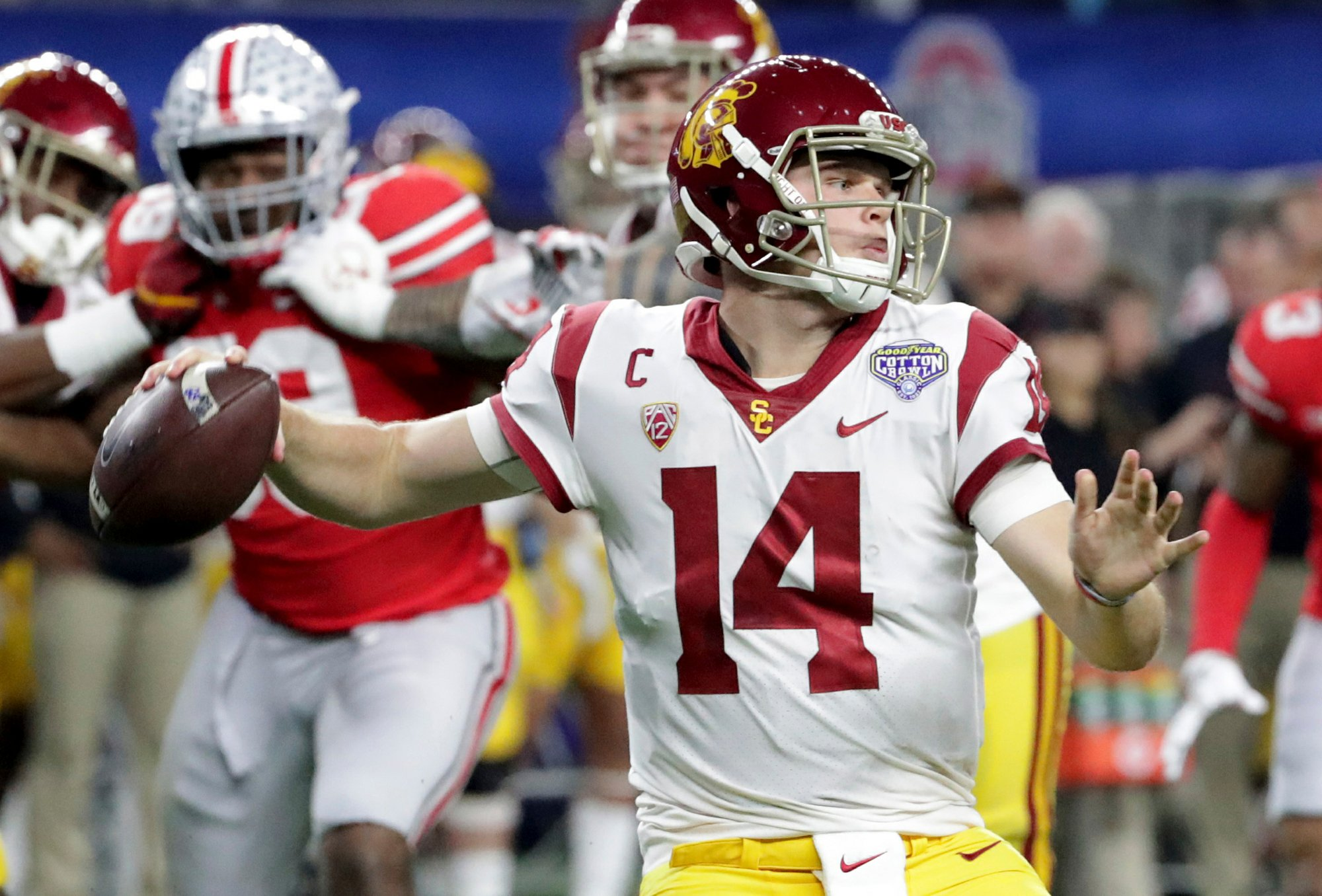 38f3d84104 NFL DRAFT  This is the class of the (flawed) quarterback