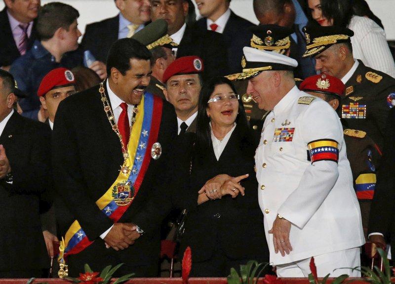 Nicolas Maduro, Diego Molero, Cilia Flores