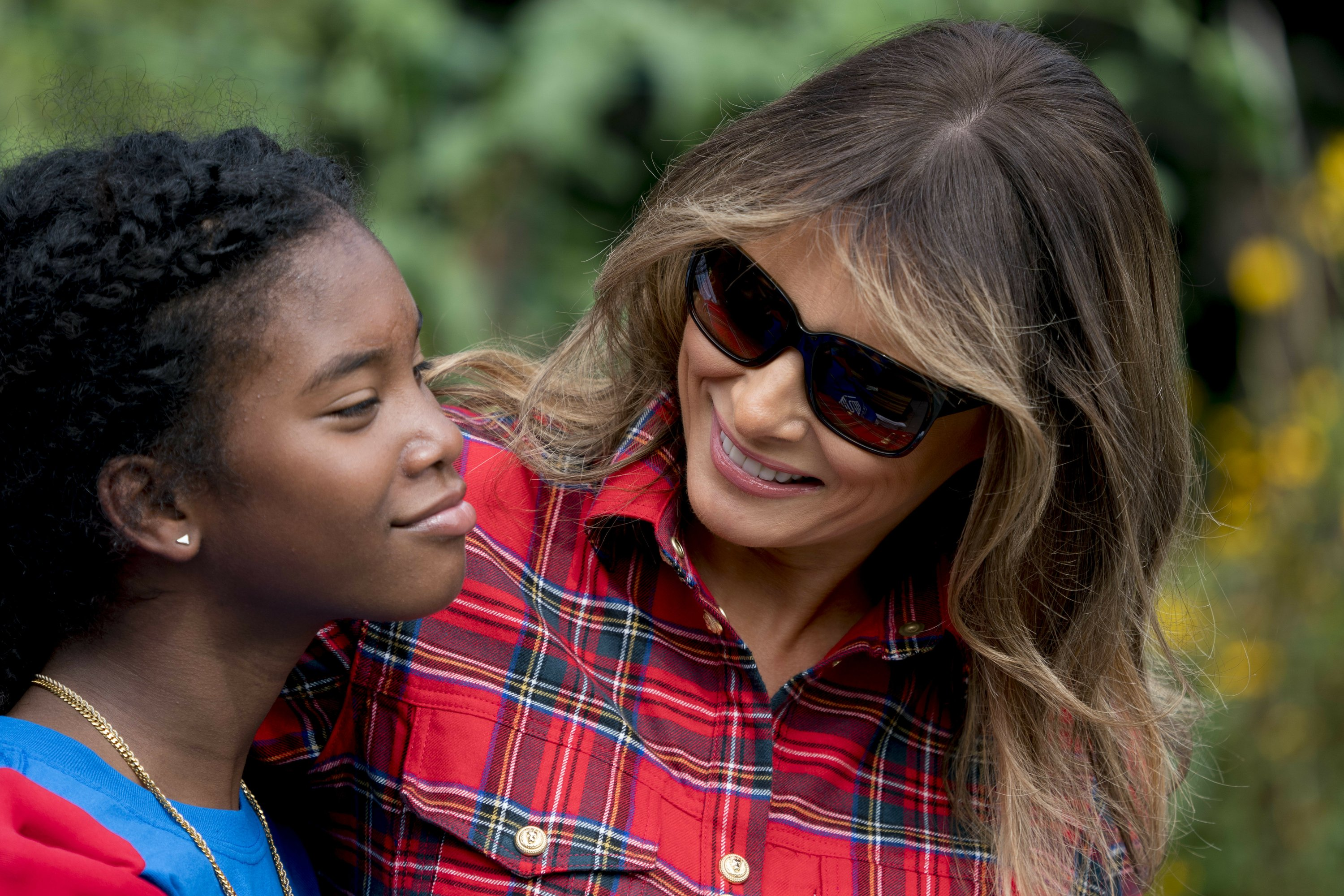 First lady set to embark on first solo trip outside US