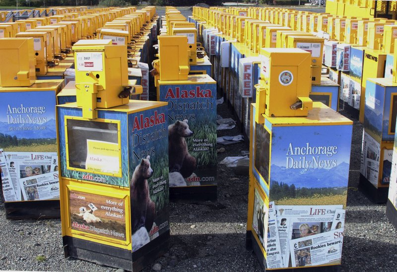 Alaska Newspaper-Bankuptcy, Alaska Dispatch News