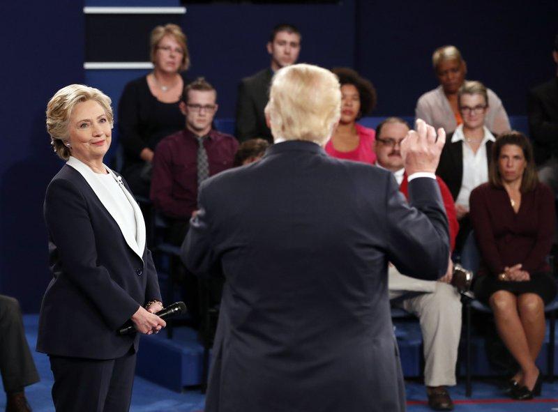 AP FACT CHECK: Trump, Clinton and their debate claims
