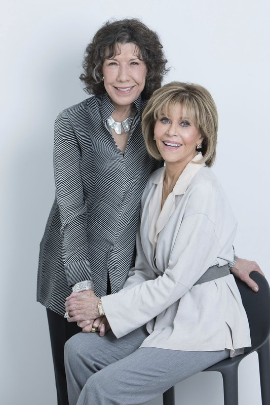 6298b6df6b55dd Fonda and Tomlin savor senioritis as 'Grace and Frankie'