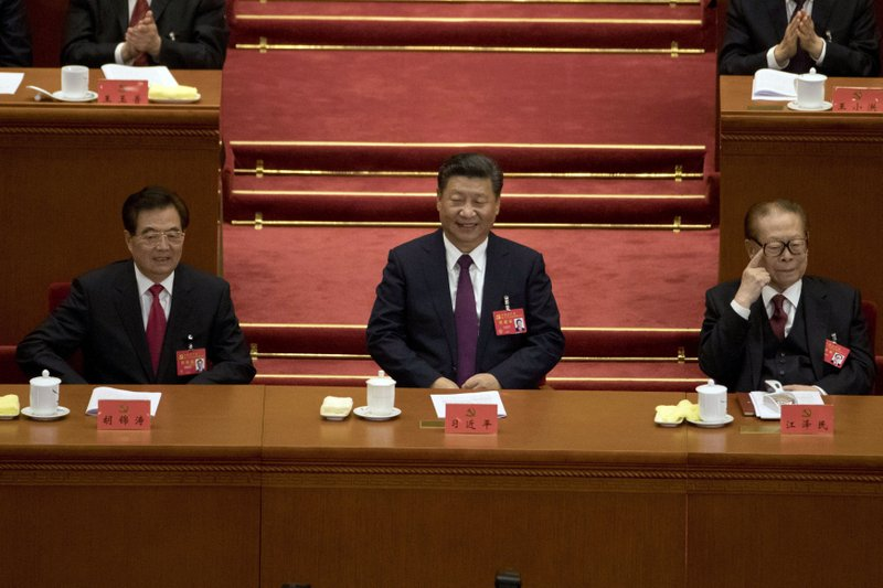 Xi Jinping, Hu JIntao, Jiang Zemin