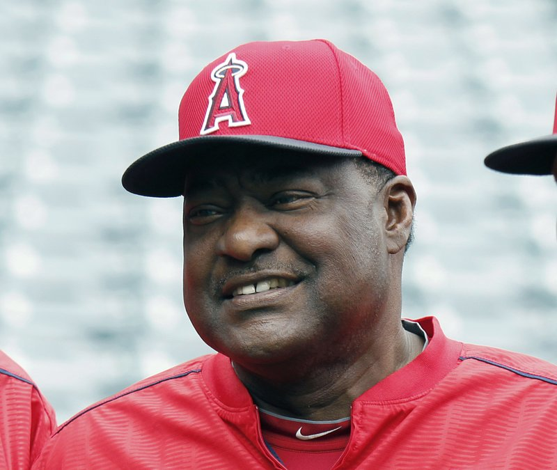 Vladimir Guerrero, Don Baylor and Mike Trout
