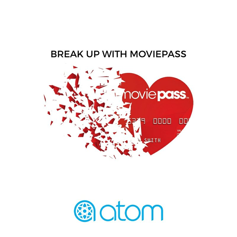 """Atom Tickets Launches """"Break Up Sweepstakes"""" For Heart-Broken Movie Fans"""