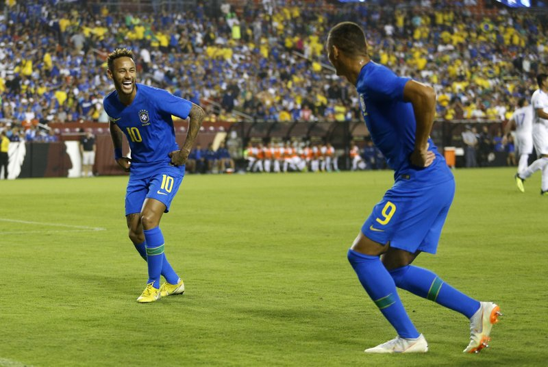 Richarlison, Neymar
