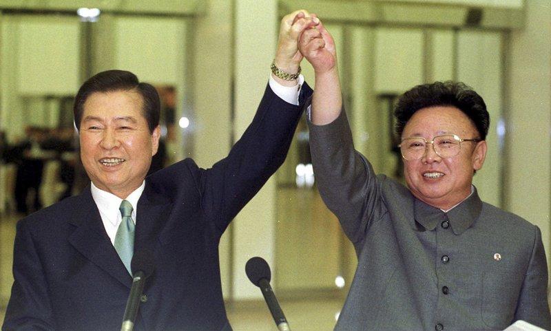 Kim Dae-jung, Kim Jong Il